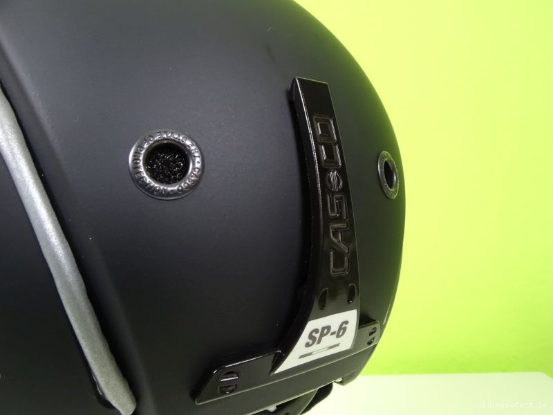 Casco SP-6 Airwolf Skibrillenhalterung