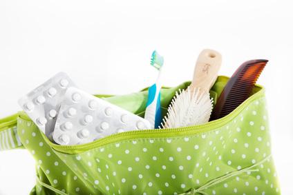 Skiurlaub packliste - Hygieneartikel